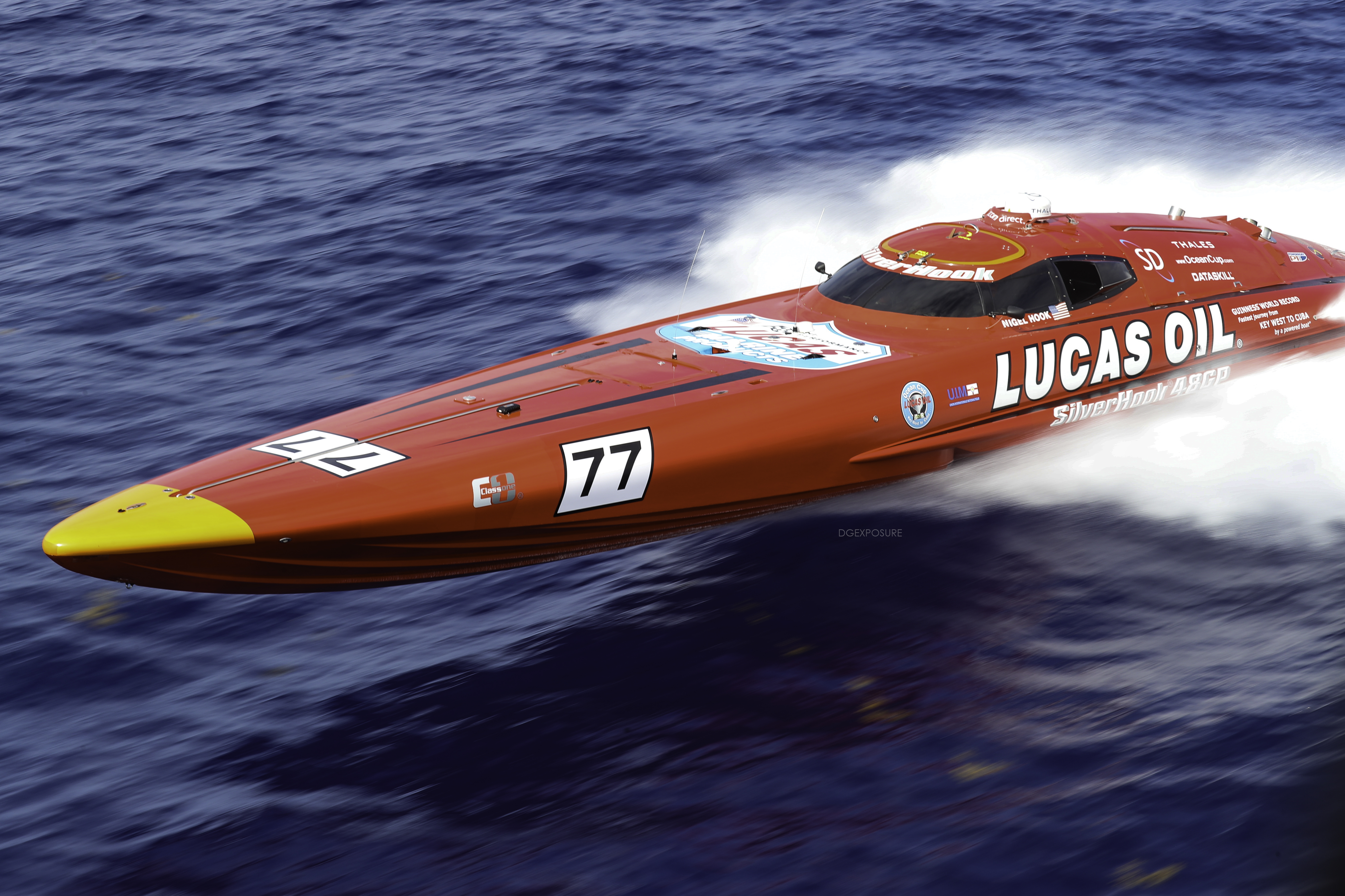 Lucas Oil SilverHook Powerboat